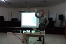 Brian Arbic giving a lecture