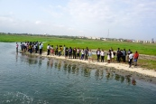 Students at the Estuary