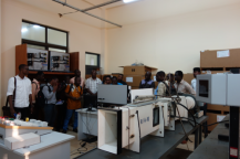 Tour of RMU lab facilities given by RMU staff