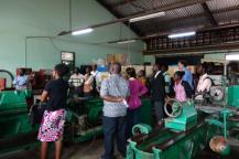 Tour of RMU machine shop facilities given by RMU staff