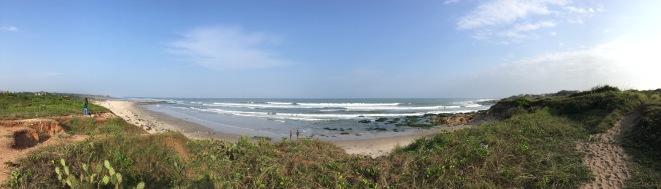 Beach at RMU